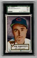 1952 Topps Baseball #184 Bob Ramazzotti - SGC 5.5 EX+