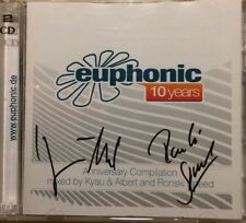 Euphonic CD Kyau And Albert And Ronski Speed Signed c1