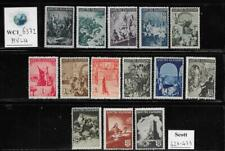 WC1_6372. BULGARIA. 1942 HISTORICAL NATIONAL EVENTS set. Scott 420-423. MVLH