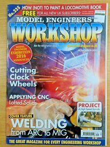 Model Engineers' Workshop Magazine No.235 November 2015 good condition 1st Post