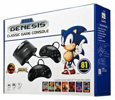 New Sega Mega Drive Classic 81 Built In Games Console
