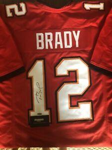 Tom Brady Signed Jersey (COA)