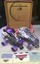 Rock Purple Expressions Roller Skates Mens Size 8 New In Box With Paper Work