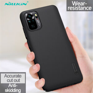 Nillkin For Xiaomi Redmi Note 10S 10 Pro Max Case Frosted Shield Hard Back Cover