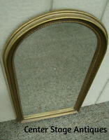60850 Gold CAROLINA Mirror in Fancy Beaded Edge Picture frame