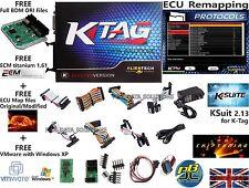 Programador ECU REMAP Chip Tuning benchtool J-Tag bootmode BDM ksuit v2.13 KTAG