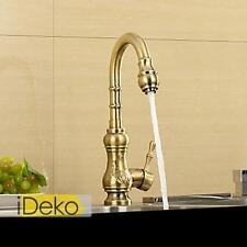 Robinet cuisine OR design rétro robinet vasque mitigeur salle de bains rotatif