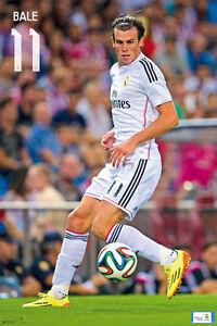 Real Madrid GARETH BALE - GAME NIGHT Official La Liga Spanish Import POSTER