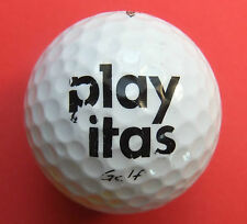 Palla da golf con logo-Play ITAS GOLF-Logo Ball/DA COLLEZIONE IDEA REGALO SOUVENIR