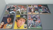 VTG Beckett Magazine Lot Monthly Football Baseball Card 1990 1991 Jackson Bonds
