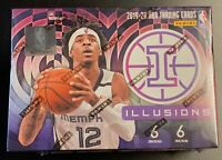 2019-20 Panini Illusions Basketball NBA Blaster Box Sealed - Ja, Herro, Zion?