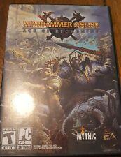 Warhammer Online Age Of Reckoning PC Game W/manual