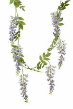 Artifical Lilac Wisteria Garland 180cm Long with 6 Flower Bunches Wedding Decor