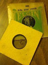 Vintage Nos Elgin 5/0 Wrist Watch Mainsprings