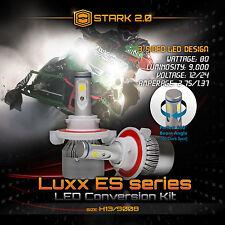 Snowmobile LED 80W 9000LM 6000K Headlight Kit Hi / Lo Dual - H13 Pair