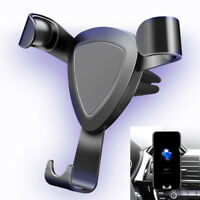 360° Rotating Gravity Car Mount Air Vent Stand Holder For Mobile Cell Phone GPS