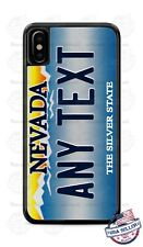 Nevada State Personalized License Plate Phone Case Cover For iPhone Samsung LG