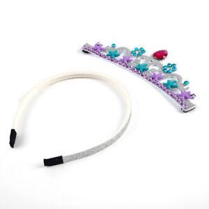 Kid's Crown Headdress Birthday Party Tiara Princess Hair Decoration Unique Part^