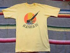 VTG 70s 80s Hawaii Sailboat T Shirt Beach  Surfer Sail Island Tourist souvenir