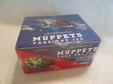 1994 Muppets Take The Ice NHL Unopened Trading Card 36 Pack Box Cards NS10