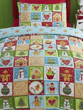 Polyester Christmas Patchwork Bedding Sets & Duvet Covers