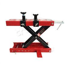 Motorcycle Lifting 1100lb center Scissors Jack lift Hoist Workshop Table Bench