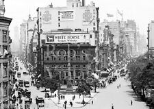 New York City photo Broadway at 5th Ave 1910 Vintage photo