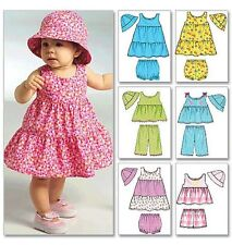 Butterick Infant Female Sewing Patterns