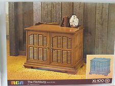 Vintage Dealer Catalog RCA XL-100 Console TV Brochure 60s 70s GR804 GR808 RARE