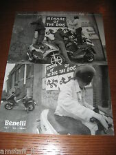 *AH48=BENELLI 491 K2 PEPE SCOOTER=PUBBLICITA'=ADVERTISING=WERBUNG=COUPURE=