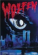 Wolfen Albert Finney vintage Horror movie poster print