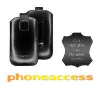 Housse / Etui Universel Cuir Taille L ~ Huawei Ascend D Quad XL / Ascend G600
