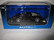 AUTOart 1.64 PORSCHE CARRERA GT  BLACK   AWESOME MODEL CAR   #20632