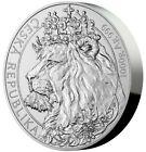 2021 1 Kilo Silver $80 Niue CZECH LION BU Coin In Capsule.