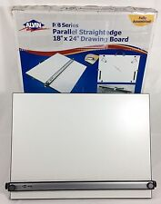 "Alvin PXB 24"" x 18"" Parallel Portable Straightedge Drawing Drafting Board In Box"
