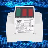 D52-2047 Multi Function Meter Din-Rail Type Voltage Current Gauge Multimeter