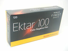 5 x KODAK EKTAR 100 120 ROLL CHEAP COLOUR PRINT FILM by 1st CLASS ROYAL MAIL