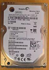 Seagate Momentus 7200.2 ST980813ASG 80Go SATA 3Gb/s 7200 rpm 8Mo cache 2'1/2