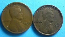 *1915-P*  & 1929-D Lincoln Wheat Cent  two coins  copper  free shipping
