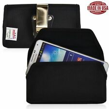 Turtleback Samsung Galaxy S4 Nylon Pouch Holster Metal Clip Fits Otterbox Case