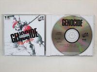 GENOCIDE PC-Engine SCD Grafx Import JAPAN Video Game pe