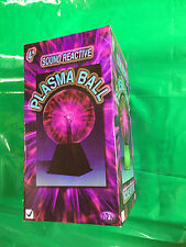 "4"" Plasma Ball Light/Lamp  Touch and Sound Activation"