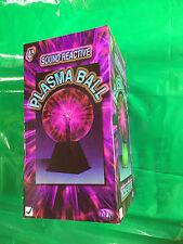 """4"""" Plasma Ball Light/Lampe Tactile et son activation"""