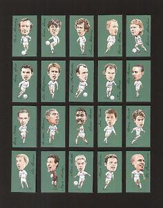 LEEDS UNITED 20 Card Set - Madeley Gray Speed Batty Radebe Kewell - Footballers