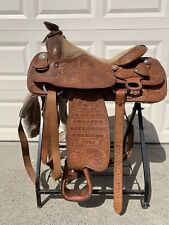 """New listing 1981 Champion Billy Cook Western Saddle 7586 15.5"""""""