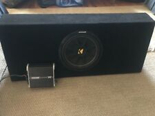 12in Kicker Sub with Amp