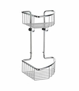 Smedbo SIDELINE Double Soap Basket Chromed  DK1021