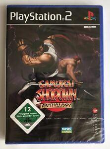PS2 Samurai Shodown Anthology (2009), German Version, Brand New & Factory Sealed