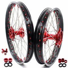 KKE 21/19 Casting Dirtbike Wheels Set for Honda Crf250r 2014-2020 Crf450r 2013