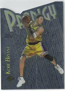 1999 Topps Prodigy Chrome Die-Cut Kobe Bryant Los Angeles Lakers HOF